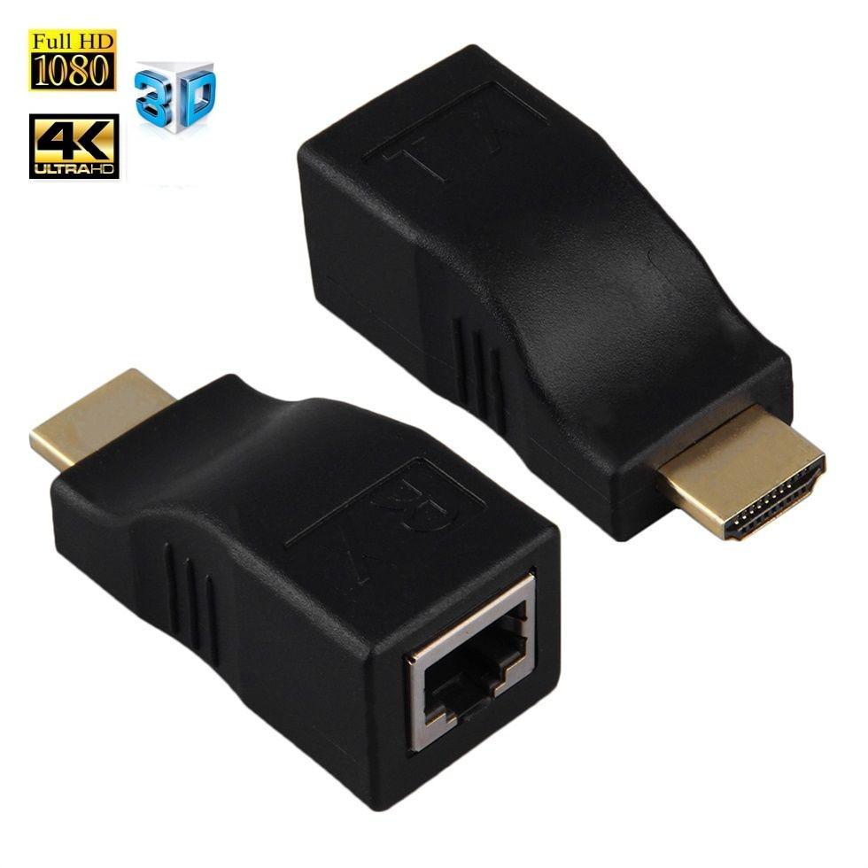 Удлинитель HDMI до 30 м по витой паре  HDMI 2.0 EXTENDER