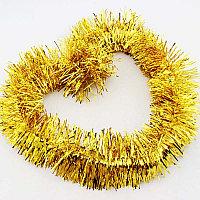 Мишура на ёлку (цвет: золотая)