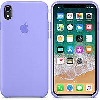 Силиконовый чехол для Apple iPhone XR (сиреневый)