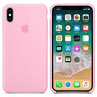 Силиконовый чехол для Apple iPhone XS Max (розовый)