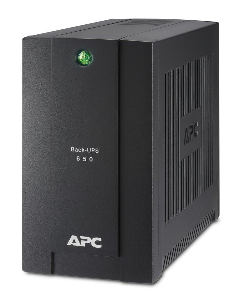 ИБП (UPS) APC Back-UPS BS OffLine 650VA/360W Tower Schuko BC650-RSX761