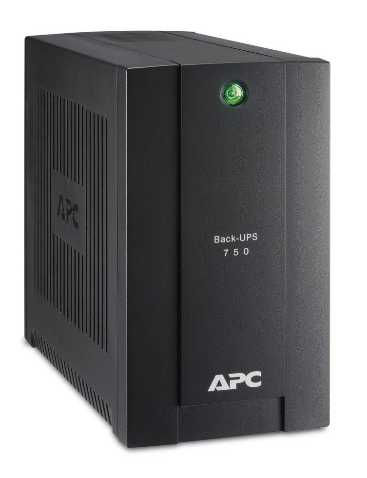 ИБП (UPS) APC Back-UPS BS OffLine 750VA/415W Tower Schuko USB BC750-RS