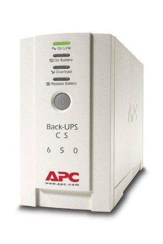 ИБП (UPS) APC Back-UPS CS OffLine 650VA/400W Tower IEC Serial+USB BK650EI