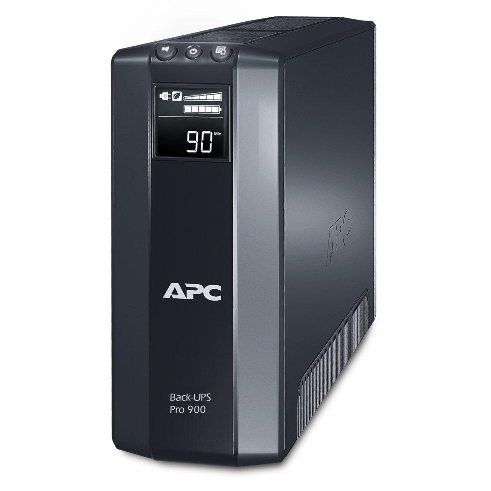 ИБП (UPS) APC Back-UPS Pro Line-Interactive 900VA/540W Tower IEC LCD Serial+USB BR900GI