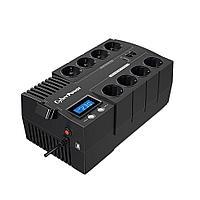 ИБП (UPS) Line-Interactive CyberPower BR700ELCD выходная мощность 700VA/420W
