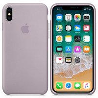 Силиконовый чехол для Apple iPhone Xs (серый)