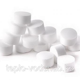 Соль таблетированная для регенерации ионообменных смол, мешок по 10 кг