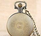 Карманные кварцевые часы на цепочке Batman, фото 5