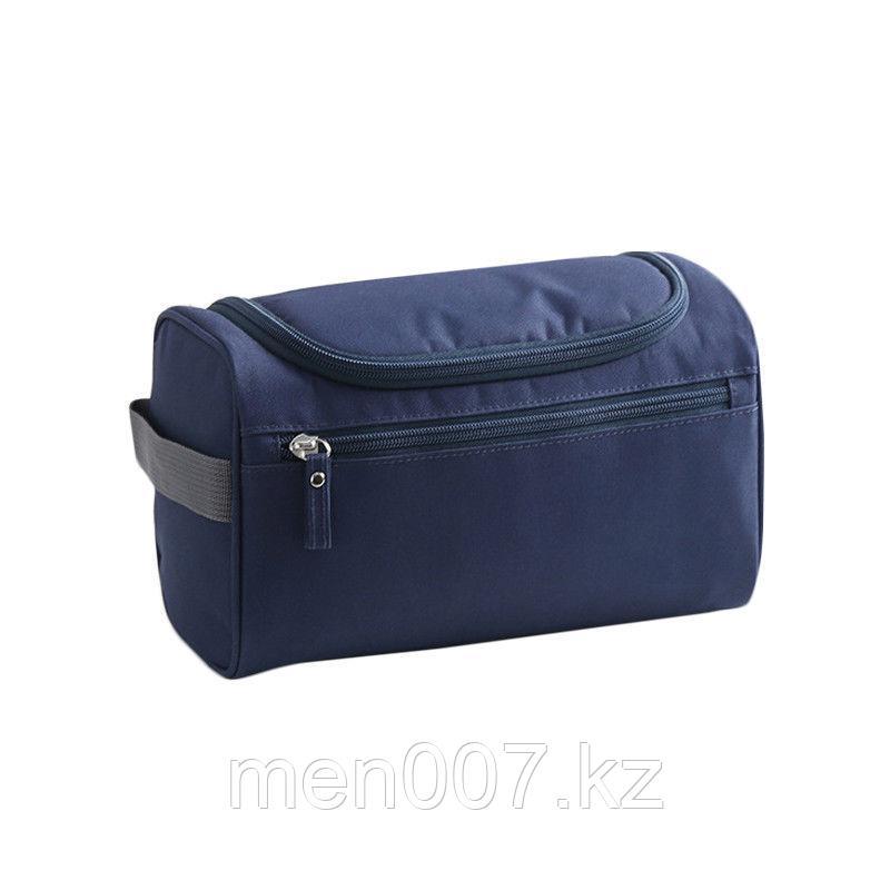 Дорожная сумка - косметичка синего цвета