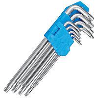 Набор L образных ключей torx 9 шт. Berent BT2154 T10-T50