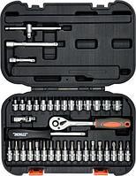 Набор инструментов головок и насадок 38 предметов.  Sthor 58640