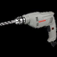 Электрическая дрель-шуруповёрт CROWN CT10126 CB 400W патрон под ключ 10 мм.