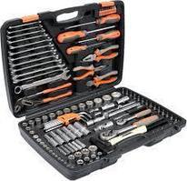 Набор инструментов головок и насадок 122 предмета Sthor VO 58690