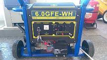 Бензиновый генератор Mateus 6,0GFE-WH