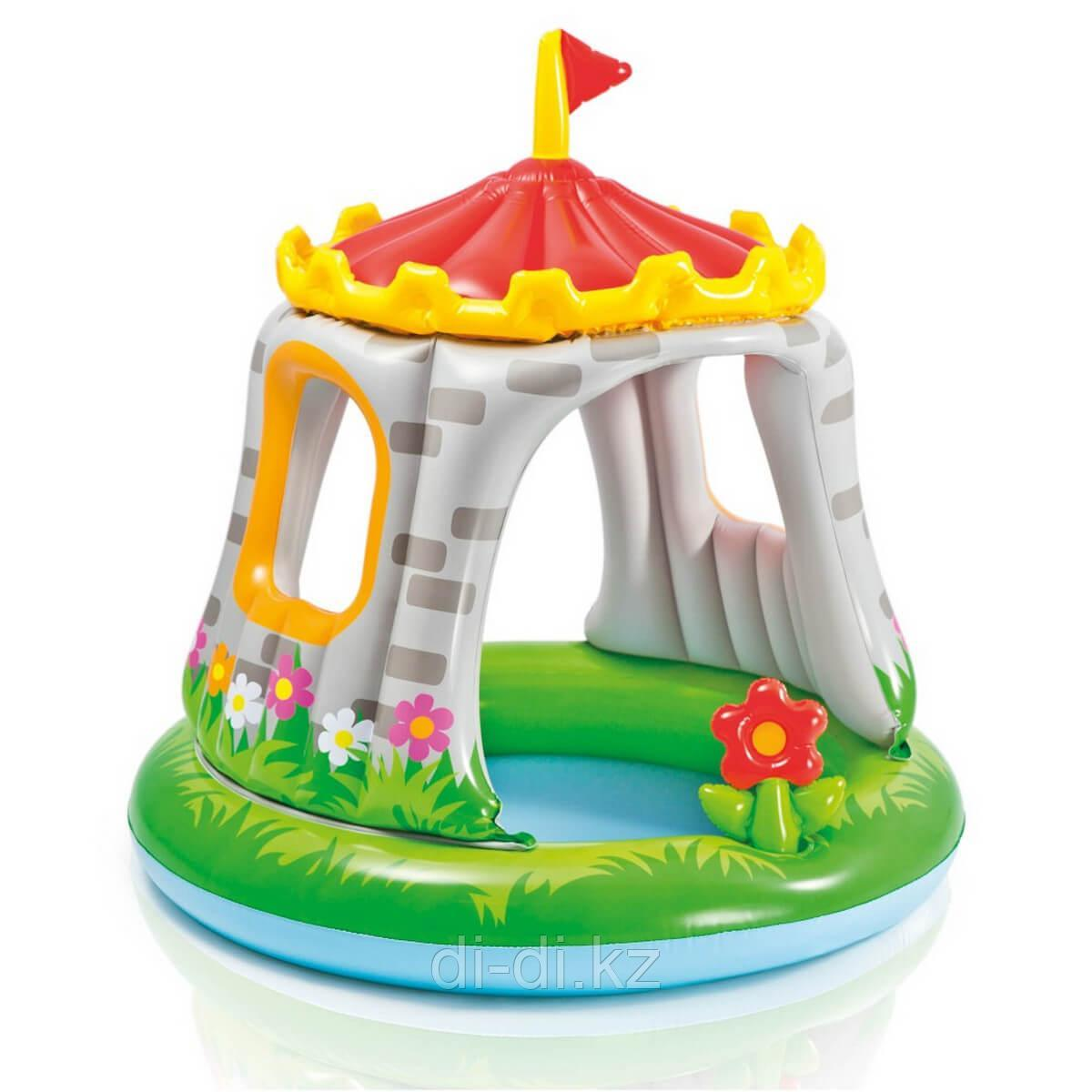 "Детский бассейн Intex ""Замок"" 229х147х46 см"