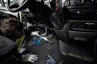 06019E3020 Пылесос Bosch GAS 12V Professional аккумуляторный без аккумуляторов и зарядного устройства, фото 3