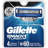 Gillette Mach 3 Turbo (4 кассеты) США