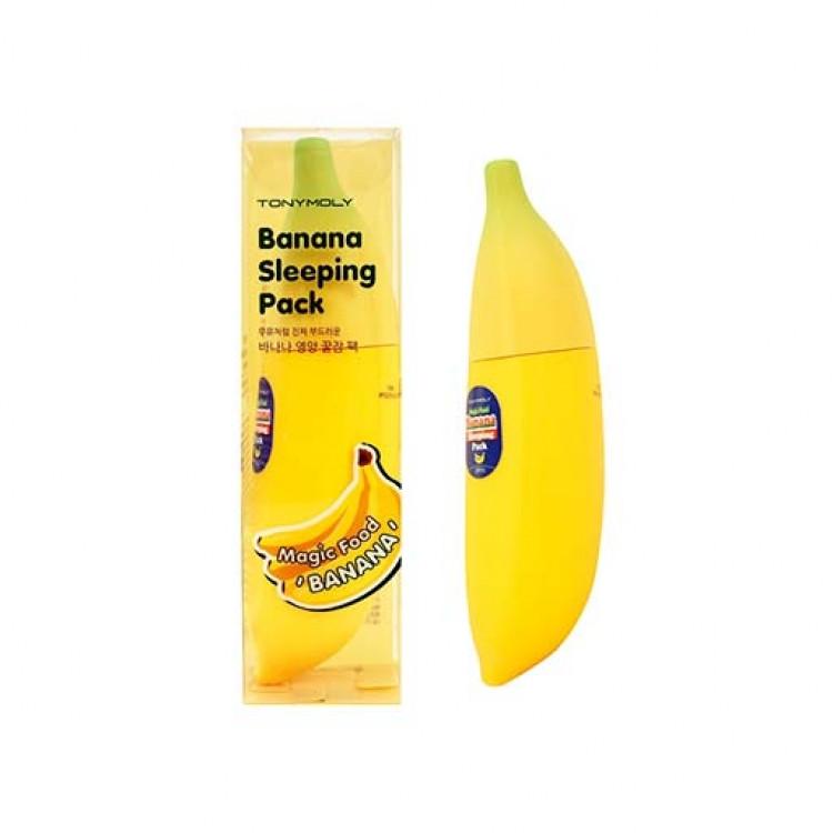 Ночная питательная маска Tony Moly Food Banana Sleeping Pack  85 мл