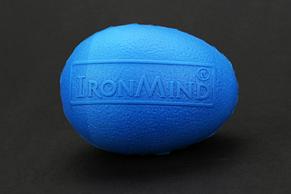Тренажер для рук - полимерное яйцо IronMind Egg (Синий). Эспандер Кистевой , фото 2