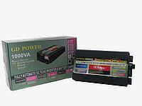 Инвертор преобразователь 12 220 GD POWER  1000 Вт с функцией зарядки и UPS, фото 1