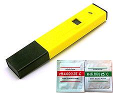 Цифровой PH метр c калибровочными растворами. Пш метр для жидкостей. Электронный ПШ метр , фото 2