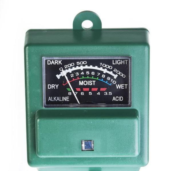 PH пш метр для почвы / Фотометр / Влагомер ETP-301 (3 в 1)