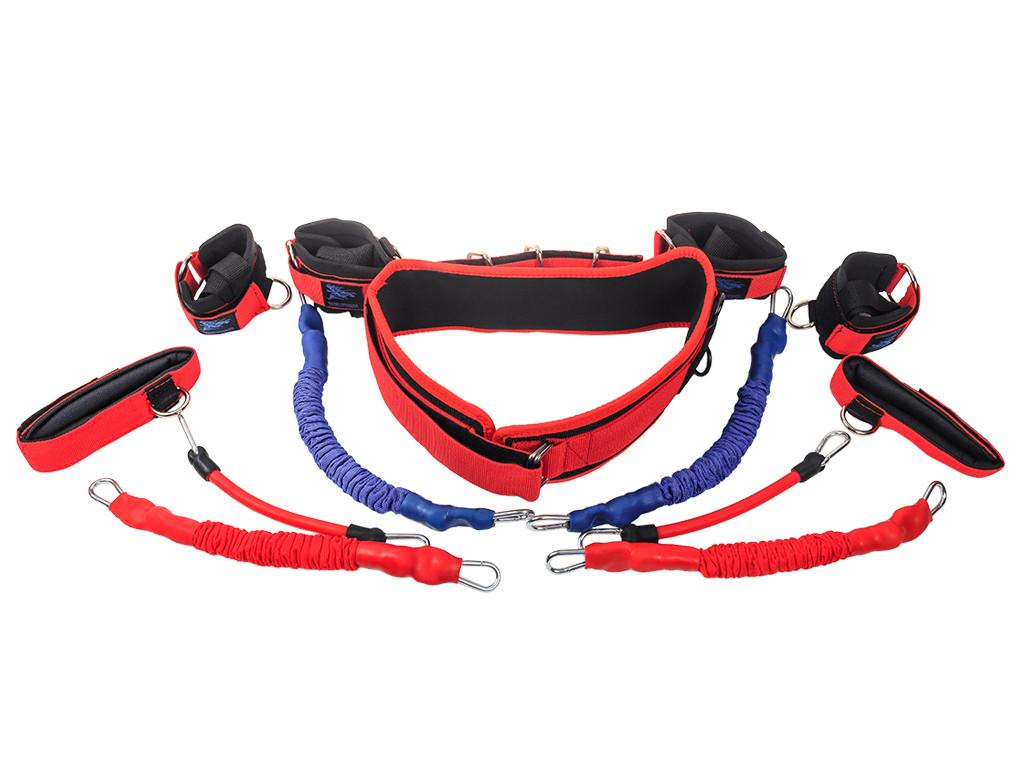 Тренажер Fight Belt (Файт белт) Бойцовский пояс - новая версия. Тренажер для отработки ударов