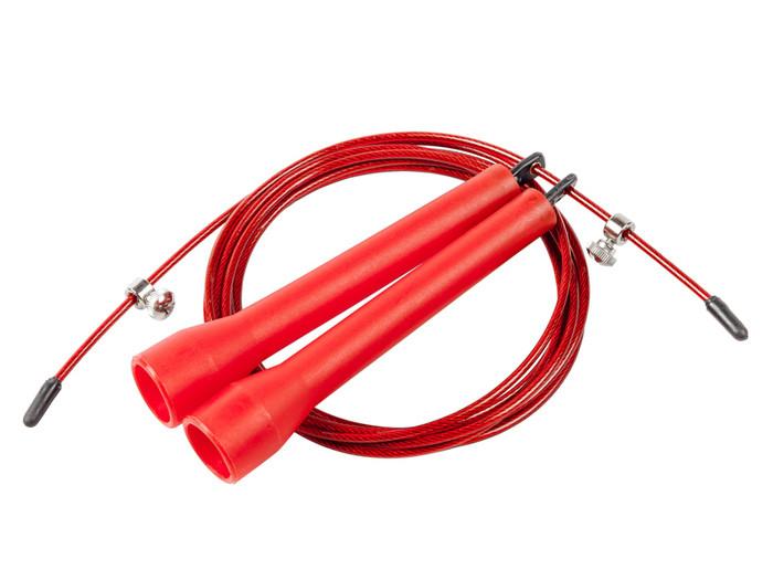 Скоростная скакалка (красная)