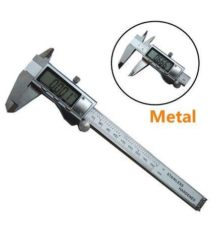 Штангенциркуль электронный (цифровой) 150 мм, металлический корпус, фото 2