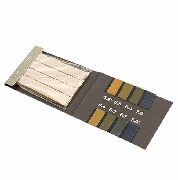 Лакмус. Индикаторная бумага для определения Ph 5.4 - 7.0