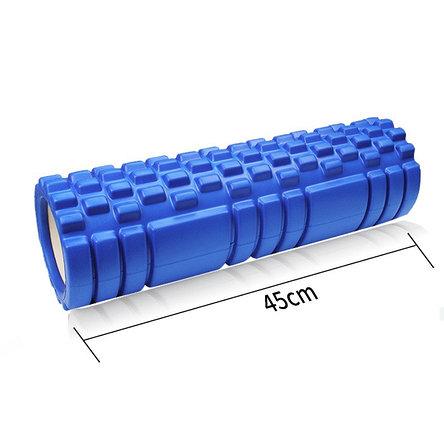 Массажный ролик для фитнеса 45 см. Валик для фитнеса. Массажный валик, фото 2