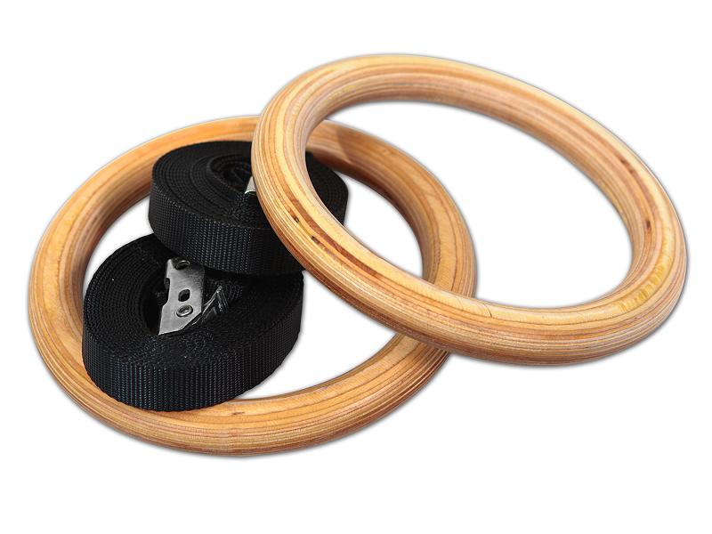 Гимнастические кольца деревянные (32 мм)