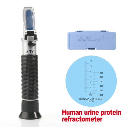 Рефрактометр для определения плотности мочи, сыворотки протеина , фото 2