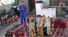 Проверка, освидетельствование огнетушителя ОП-35 до ОП-100