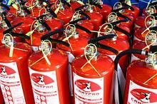 Покраска огнетушителя и рамки ОП-25-100