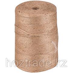 Шпагат джутовый полированный, 2 нити, 830 м, 1 кг