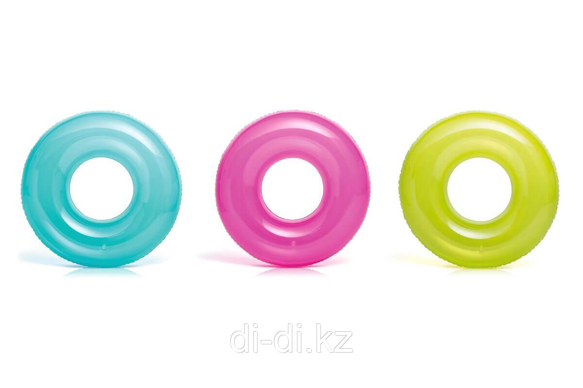 """Надувной круг - """"Transparent Tubes"""""""
