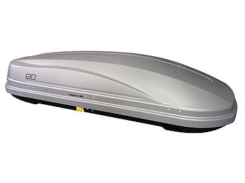 Бокс автомобильный Магнум 390 серый,тиснение карбон Быстросъем
