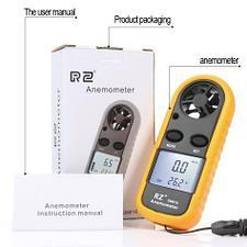 Анемометр (ветромер) RZ-816. Прибор для измерения скорости движения газов, воздуха, ветра., фото 3