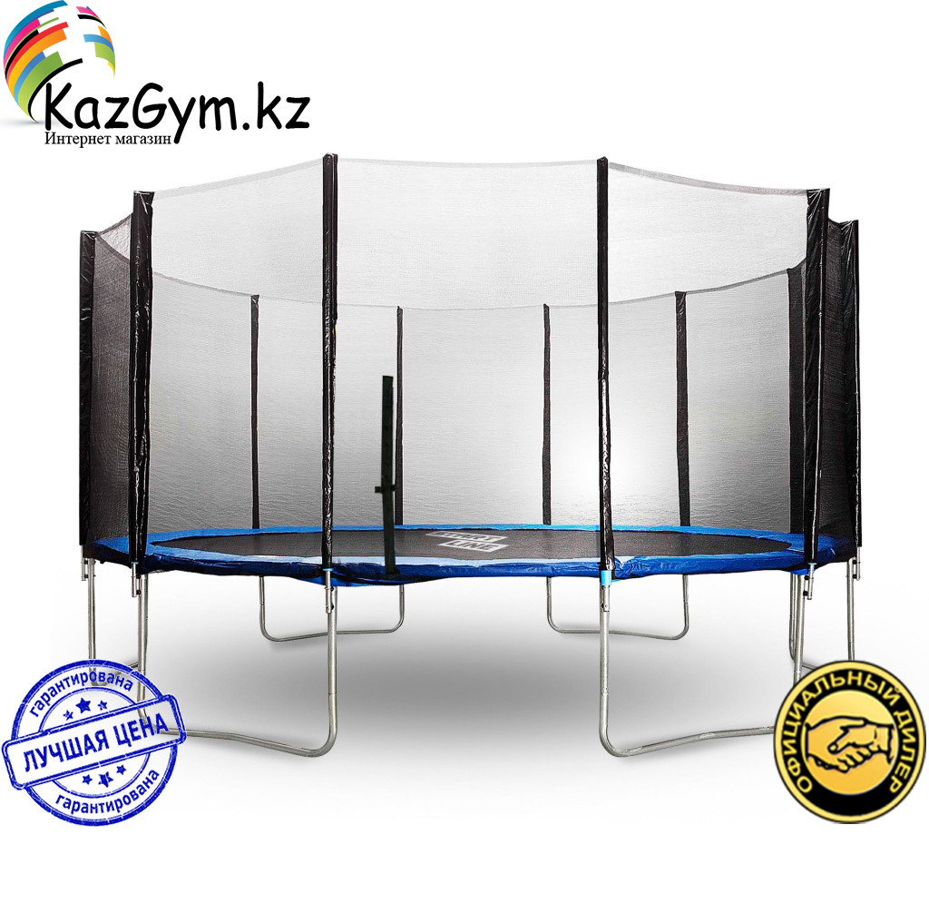Батут StartLine Fitness 16 футов (488см) с внешней сеткой - фото 1