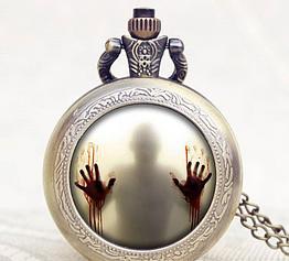 Карманные кварцевые часы на цепочке Fear. Kaspi RED. Рассрочка.