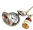 Карманные кварцевые часы на цепочке Drink Me. Kaspi RED. Рассрочка., фото 2