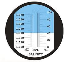 Рефрактометры для измерения концентрации соли (солености), фото 2