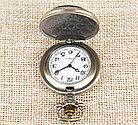 Карманные кварцевые часы на цепочке SuperMan, фото 2