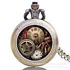 Карманные кварцевые часы на цепочке, фото 3