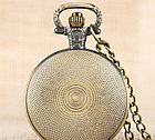 Карманные кварцевые часы на цепочке, фото 8