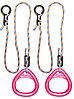 Кольца гимнастические треугольные 02 В розовый