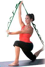 Ремень для растяжки, йоги, пилатеса, гимнастики (Stretch Strap), фото 2