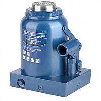 Домкрат гидравлический бутылочный, 30 т, H подъема 240-370 мм Stels
