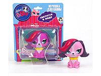 Фигурка Спаниель Зое со светом Hasbro Littlest Pet Shop